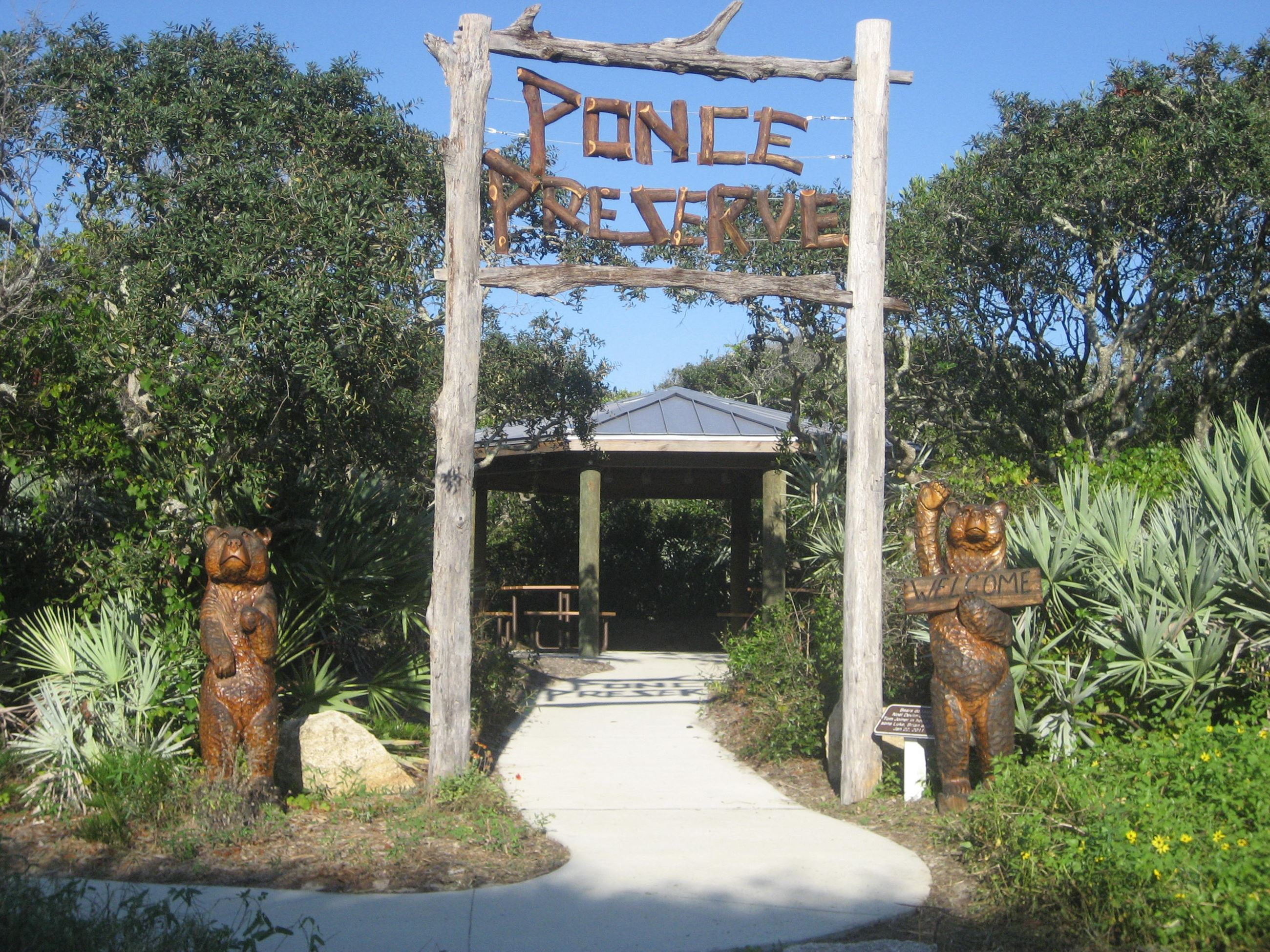 Welcome Sign at Ponce Preserve